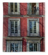 Spring Sunshine In Madrid Fleece Blanket