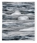 Spring Thaw Fleece Blanket