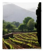 Spring Vines In Provence Fleece Blanket