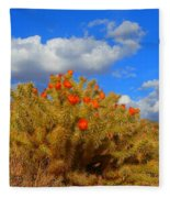 Springtime In Arizona Fleece Blanket