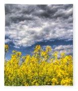 Springtime In England Fleece Blanket