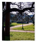 Springtime In Rome Fleece Blanket