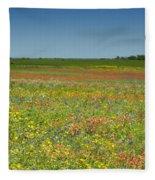 Springtime In Texas 2 Fleece Blanket