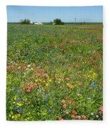 Springtime In Texas 6 Fleece Blanket