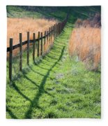 Springtime Pasture Fleece Blanket