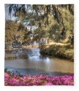 Springtime View Fleece Blanket