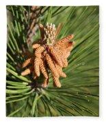 Sprintime Pine Fleece Blanket