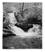 Spruce Flats Falls Fleece Blanket