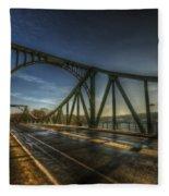 Spy Bridge Fleece Blanket
