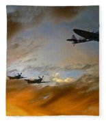 Squadron Scramble Fleece Blanket