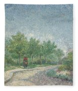 Square Saint Pierre Fleece Blanket