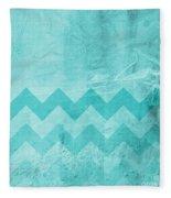 Square Series - Marine 1 Fleece Blanket