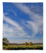 Squaw Creek Landscape Fleece Blanket