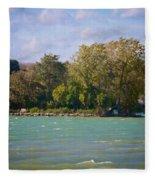 Squaw Island Fleece Blanket
