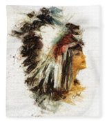Squaw Fleece Blanket