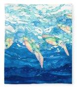 Squid Ballet Fleece Blanket