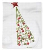 Squiffy Tree Fleece Blanket