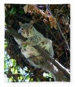Squirrel By Nest Fleece Blanket
