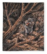 Squirrel-ly Fleece Blanket