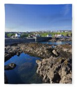 St Abbs Scotland Fleece Blanket