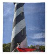 St Augustine Lighthouse Fleece Blanket