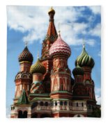 St. Basil's Cathedral Fleece Blanket