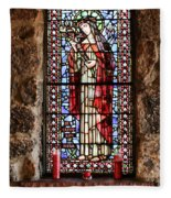 St. Catherine Of Siena Fleece Blanket