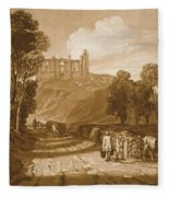St Catherines Hill Near Guildford Fleece Blanket