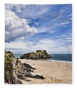 St Catherines Island 1 Fleece Blanket