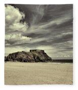 St Catherines Island 6 Fleece Blanket