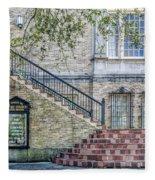 St. Charles Ave Baptist Church New Orleans Fleece Blanket