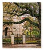 St. Charles Ave. Fleece Blanket