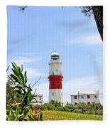 St. Davids Lighthouse Fleece Blanket