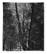St-denis Woods 2 Fleece Blanket