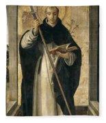 St. Dominic De Guzman Fleece Blanket