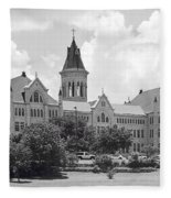 St. Edward's University Old Main I I Fleece Blanket