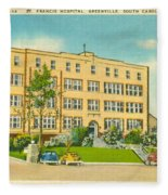 St. Francis Hospital Fleece Blanket