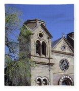 St. Francis Of Assisi Church Fleece Blanket