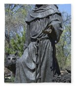 St. Francis Of Assisi Fleece Blanket