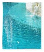 St Francisville Inn La Pool Fleece Blanket