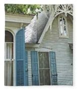 St Francisville Inn Windows Louisiana Fleece Blanket