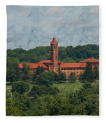 St. Gabriel's From Valley Forge Fleece Blanket