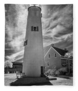 St. George Island Lighthouse Fleece Blanket
