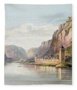 St. Goarshausen, St. Goar Fleece Blanket
