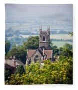 St James Church Shaftesbury Fleece Blanket