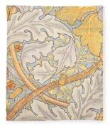 St James Wallpaper Design Fleece Blanket