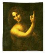St. John The Baptist Fleece Blanket