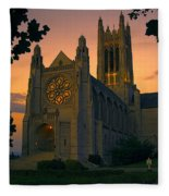 St Johns Cathedral - Spokane Fleece Blanket