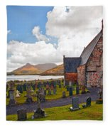 St  Johns Episcopal Ballachulish Fleece Blanket