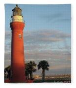 St. Johns River Lighthouse II Fleece Blanket